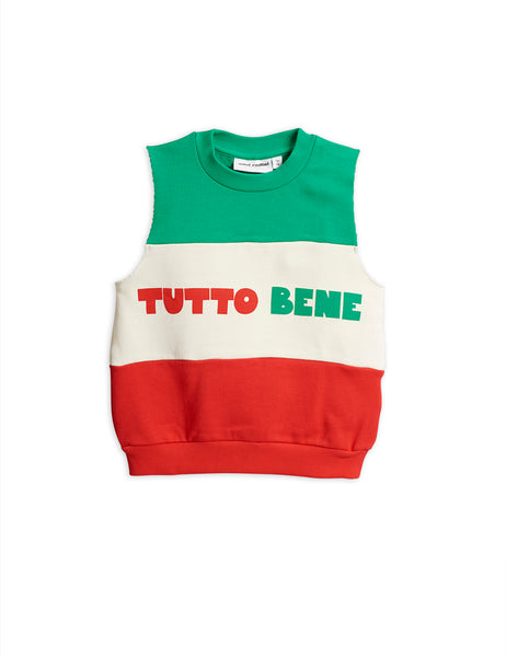 Boys & Girls Green & Red Cotton Sweatshirt