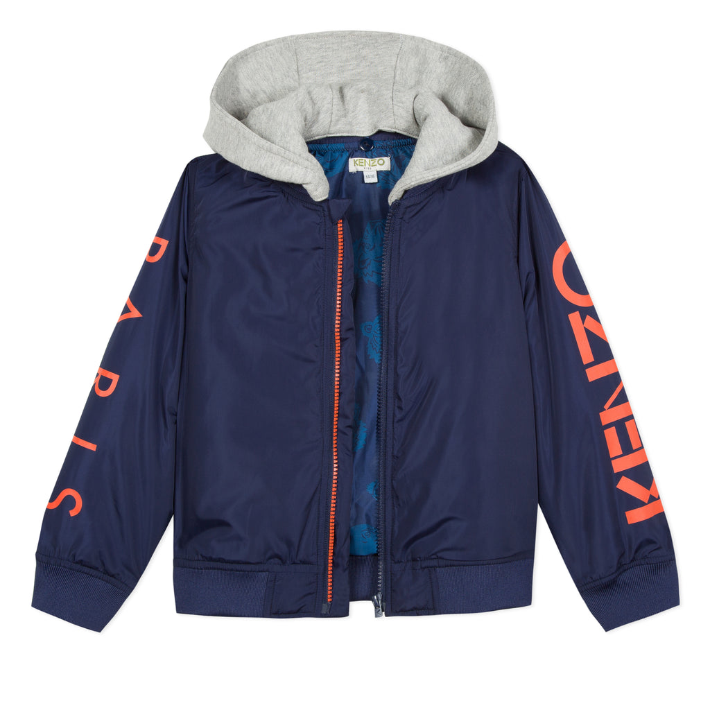 3e148e2a6 Boys Navy Cotton Jacket