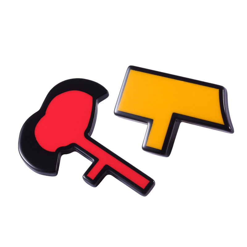 Girls Yellow&Red Brooch - CÉMAROSE | Children's Fashion Store - 1