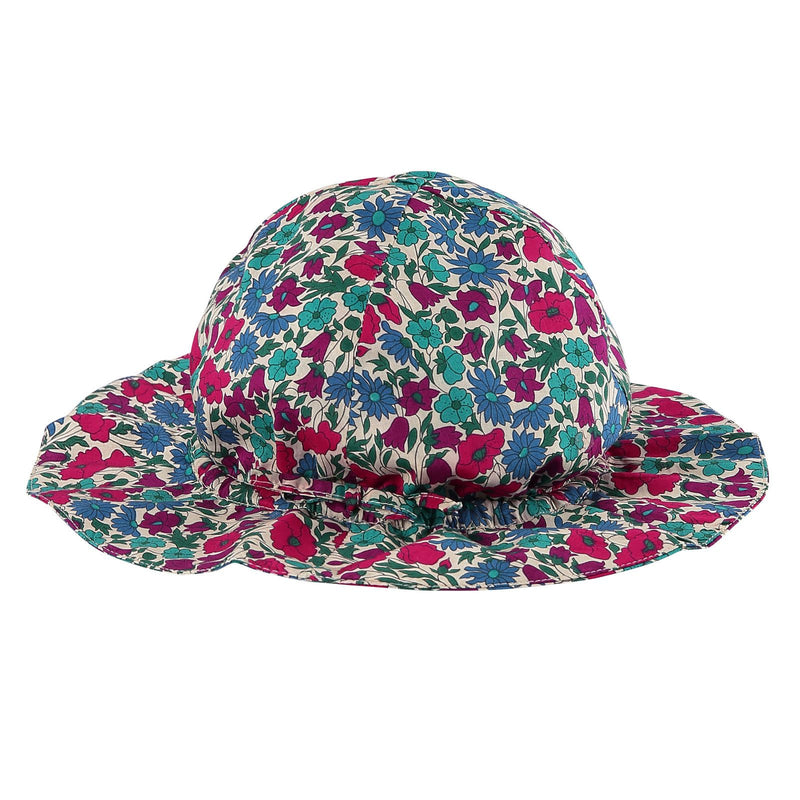 Baby Multicolor Poppy Printed Sun Hat - CÉMAROSE | Children's Fashion Store - 1