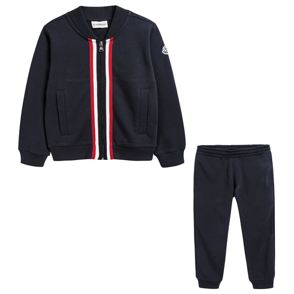 Boys Navy Blue Tracksuit
