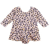 Suzy Girls Pink Leopard Printed Dress - CÉMAROSE | Children's Fashion Store - 1