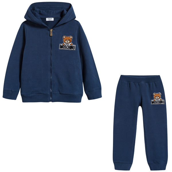 Baby Navy Blue Cotton Sets