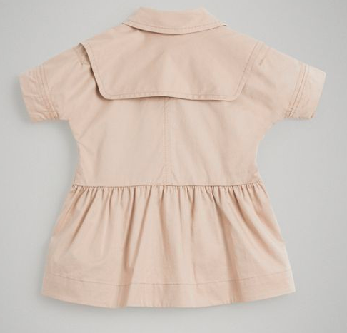 Baby Girls Honey Cotton Dress