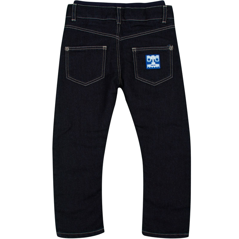 Baby Boys Blue Denim Skinny Fit Jeans - CÉMAROSE | Children's Fashion Store - 2