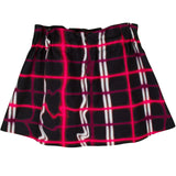 Girls Black Skirt With Red&White Check Printed - CÉMAROSE | Children's Fashion Store - 2