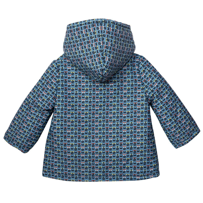 Baby Blue&Mulitcolors 'FF Monster' Printed Jacket - CÉMAROSE | Children's Fashion Store - 2