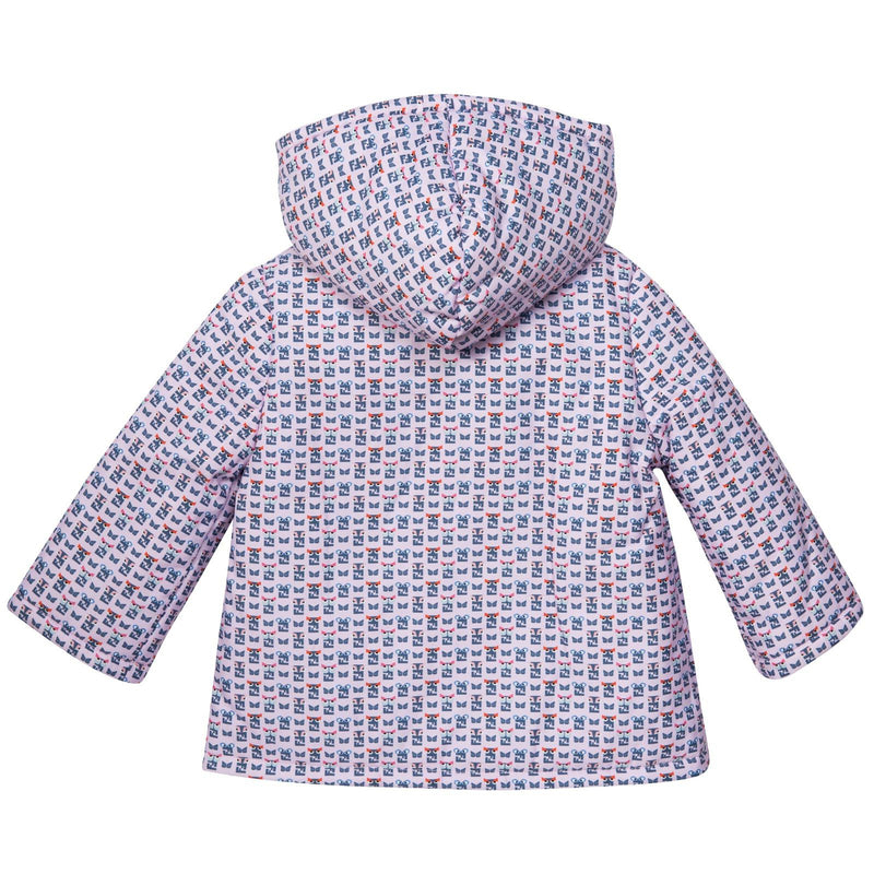 Baby Purple&Mulitcolors 'FF Monster' Printed Jacket - CÉMAROSE | Children's Fashion Store - 2