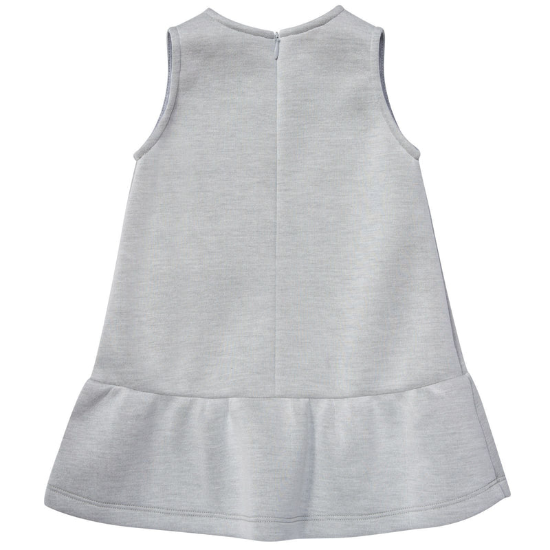 Baby Girls Ivory Prited Sleeveless Dress - CÉMAROSE | Children's Fashion Store - 2