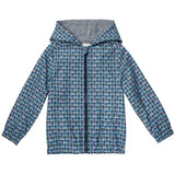 Baby Boys Blue 'FF Monster' Printed Jacket - CÉMAROSE | Children's Fashion Store - 1