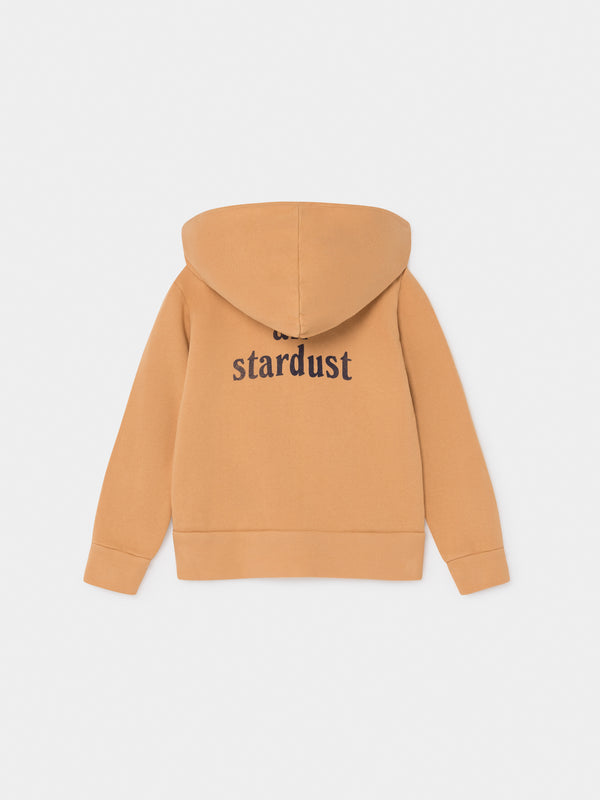 Boys & Girls Camel Stardust Hooded Sweatshirt
