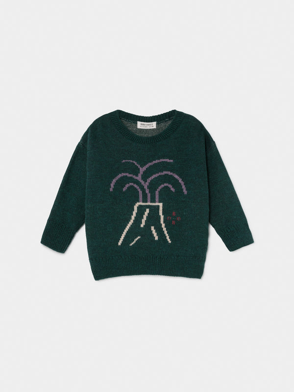 Boys & Girls Green Valcano Sweater