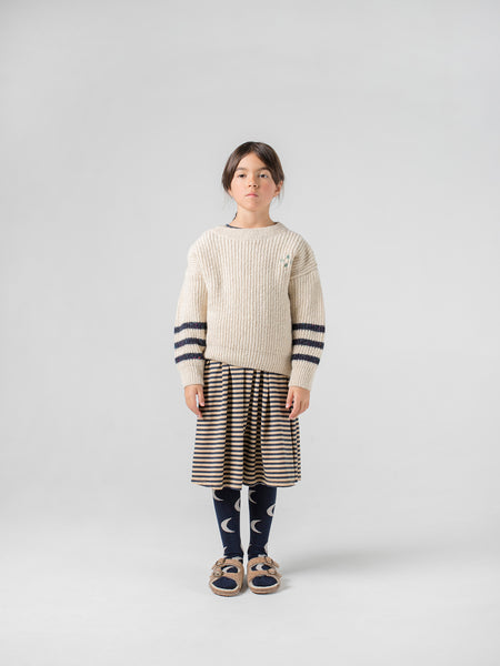 Boys & Girls Beige Logo Sweater