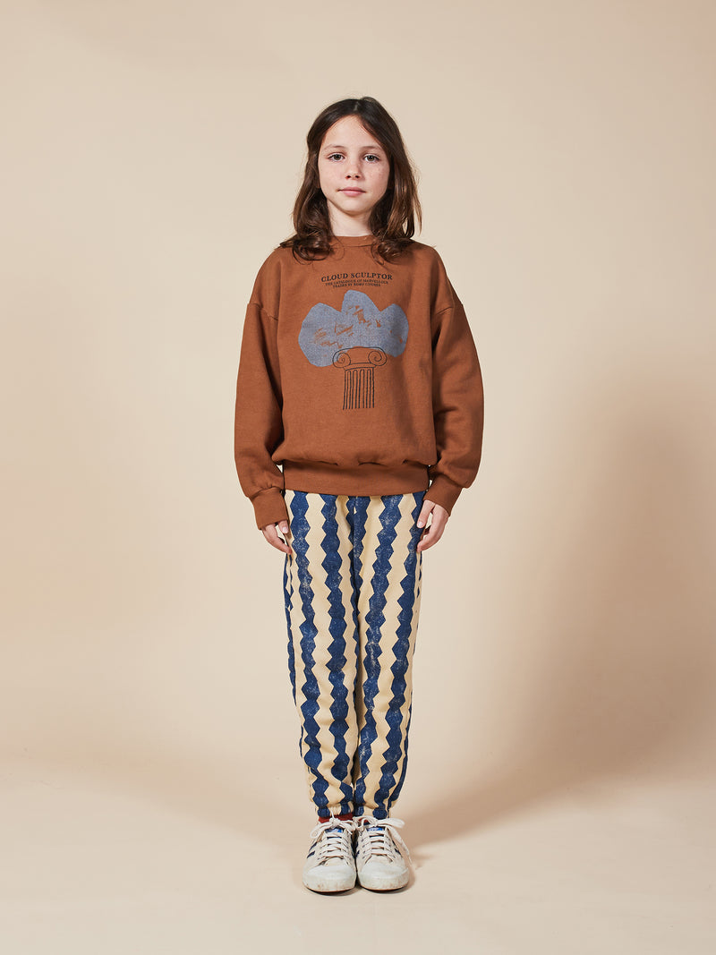 Boys & Girls Brown Rice Organic Cotton Trousers