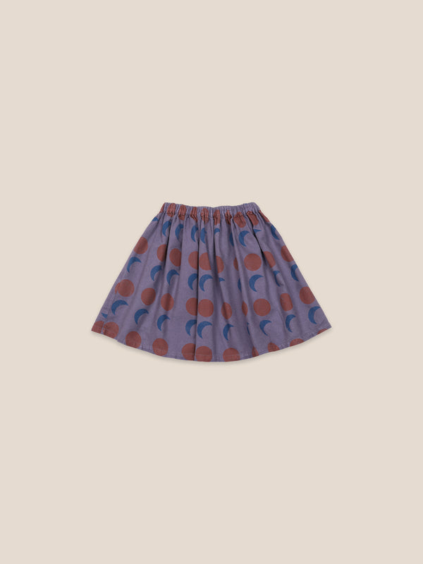 Girls Grape Compote Solar Eclipse Woven Skirt