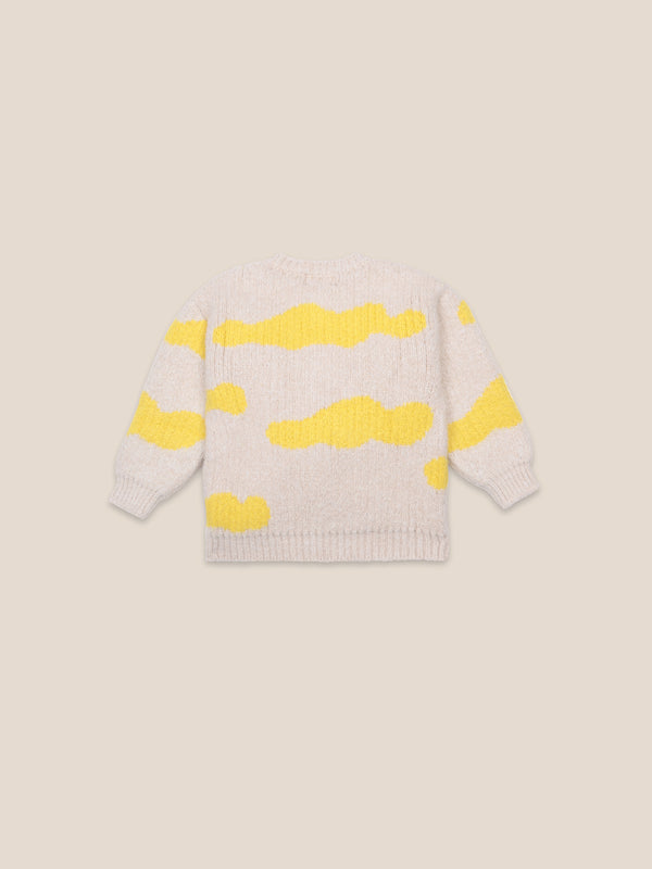 Boys & Girls Pristine Clouds Cardigan