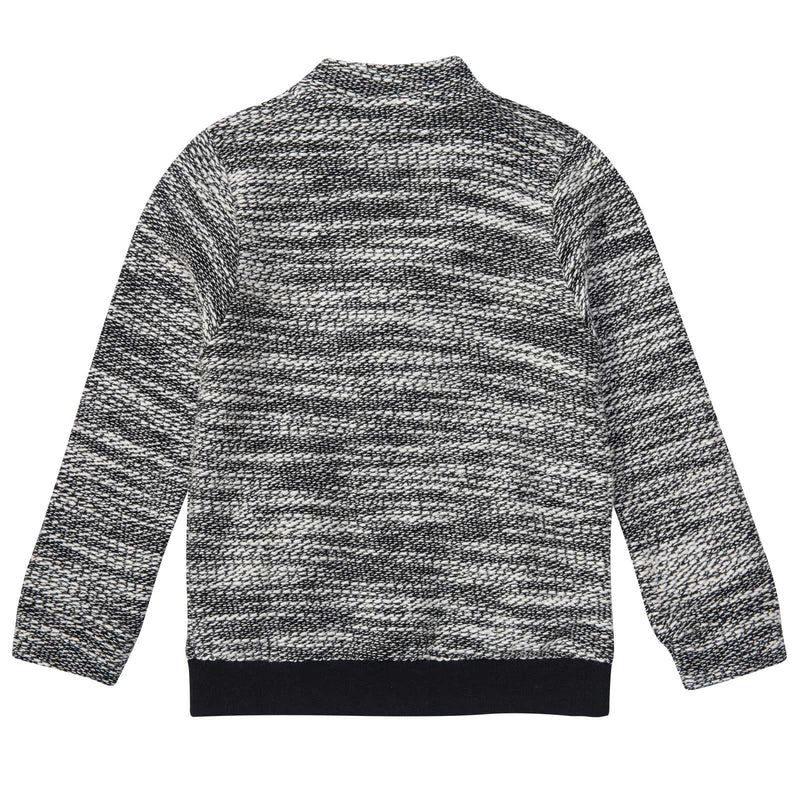 Boys Dark Grey Cardigan With Black Pockets - CÉMAROSE | Children's Fashion Store - 2