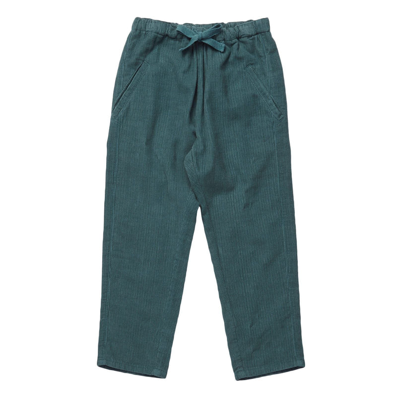Boys Light Blue Cotton Bow Trims Wayland Trousers - CÉMAROSE | Children's Fashion Store - 1