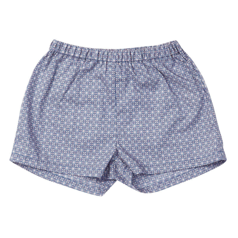 Baby Purple Star Printed Woven Short - CÉMAROSE | Children's Fashion Store