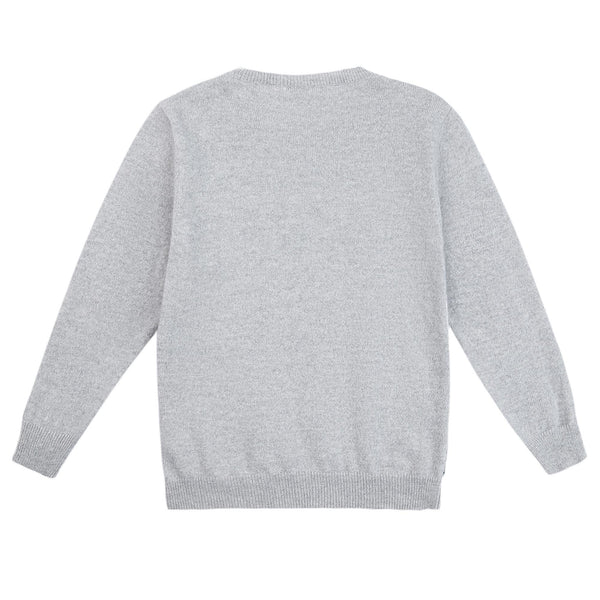 Baby Boys Grey Wool Sweater