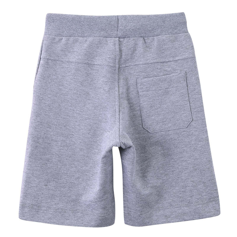 Boys Grey 'Monster' Printed Short - CÉMAROSE | Children's Fashion Store - 2