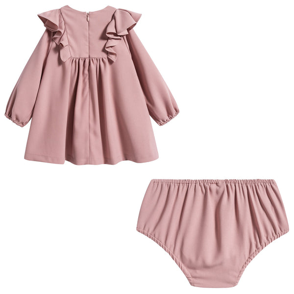 Baby Girls Antique Pink Dress