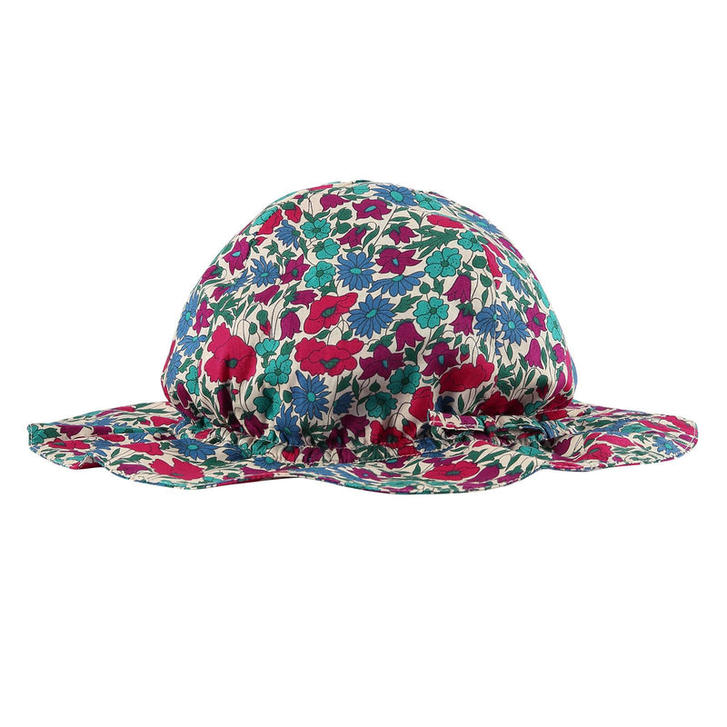 Baby Multicolor Poppy Printed Sun Hat - CÉMAROSE | Children's Fashion Store - 2