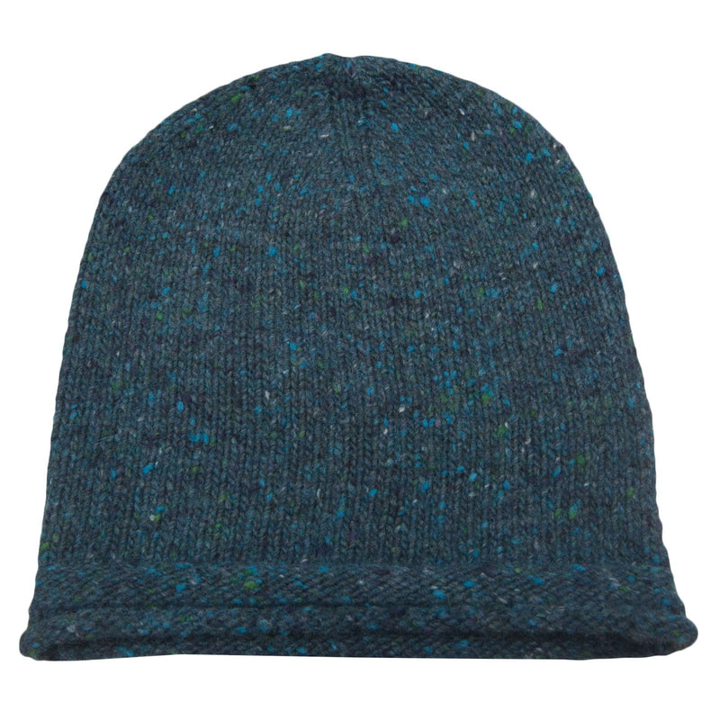 Boys Navy Blue Knitted Wool Hat - CÉMAROSE | Children's Fashion Store - 2