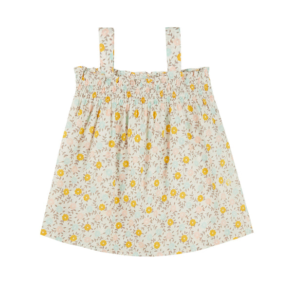 Baby Girls Flowers Cotton Set