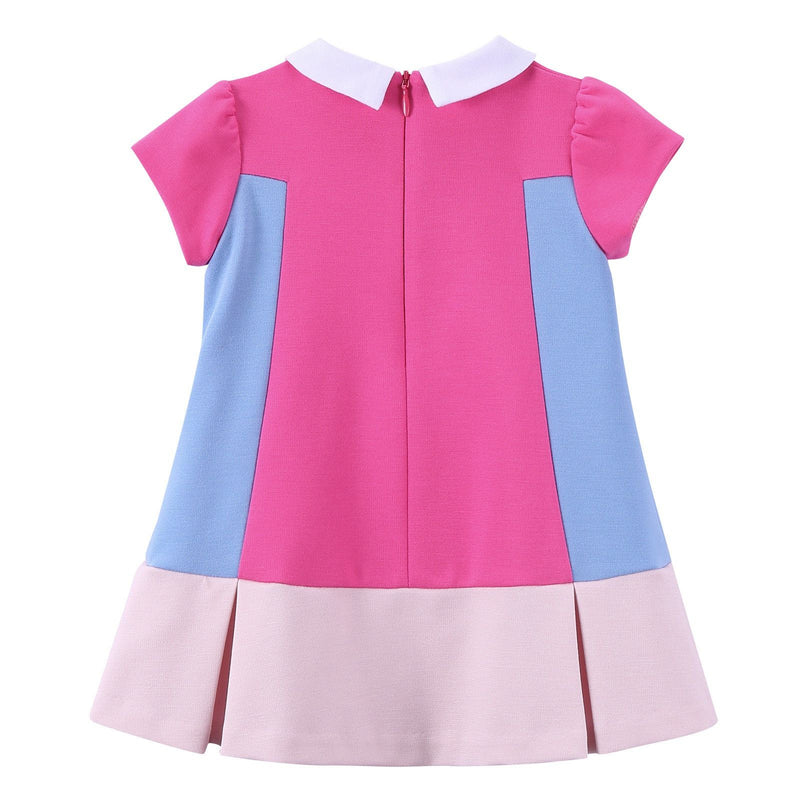Baby Girls Multicolor Peter Pan Collar Dress - CÉMAROSE | Children's Fashion Store - 2