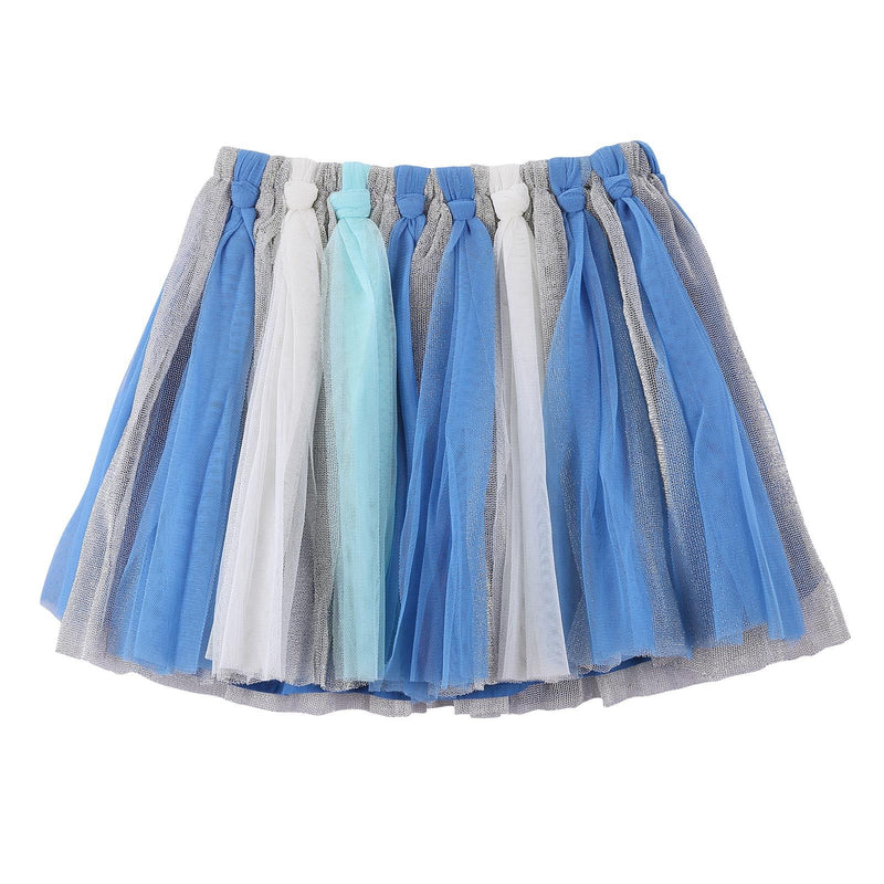 Girls Multicolor Marine Style Skirt With Patch Trims - CÉMAROSE | Children's Fashion Store - 2