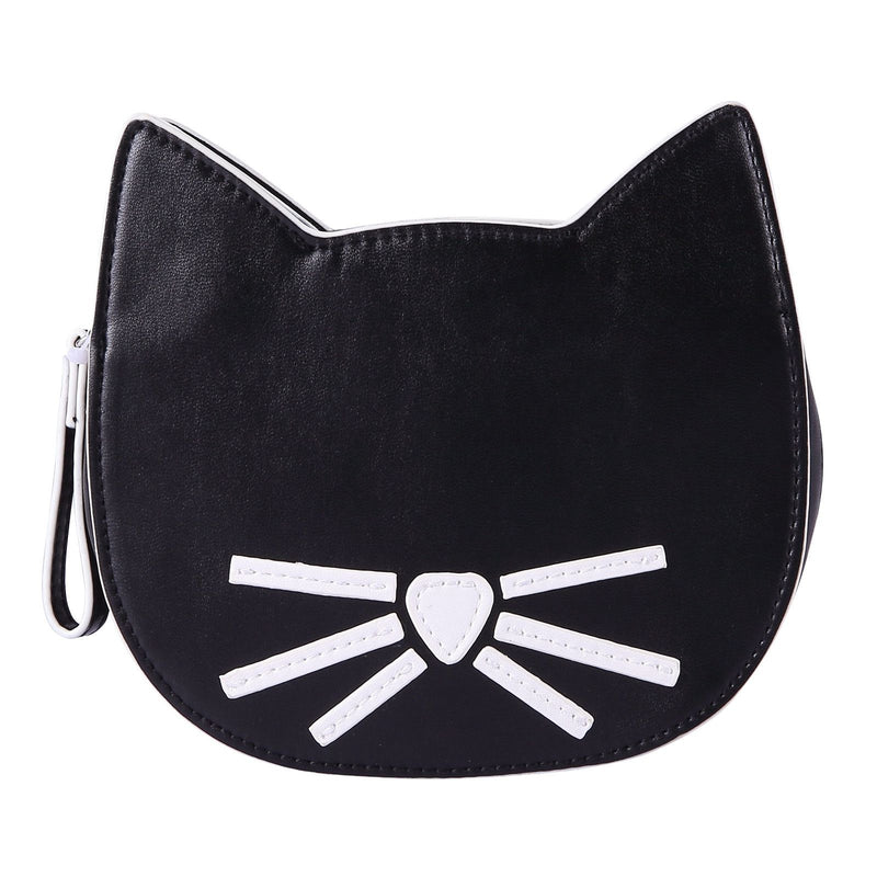 Girls Black Cat Head Style Bag - CÉMAROSE | Children's Fashion Store - 3