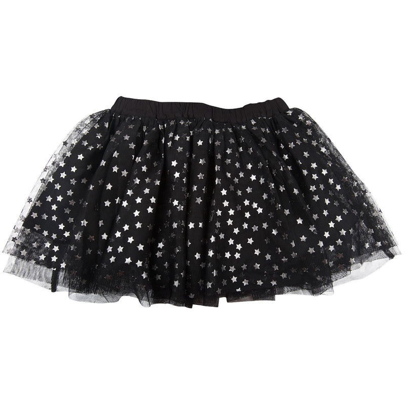 Honey Girls Black Tulle Skirt With Silver Stars - CÉMAROSE | Children's Fashion Store - 2