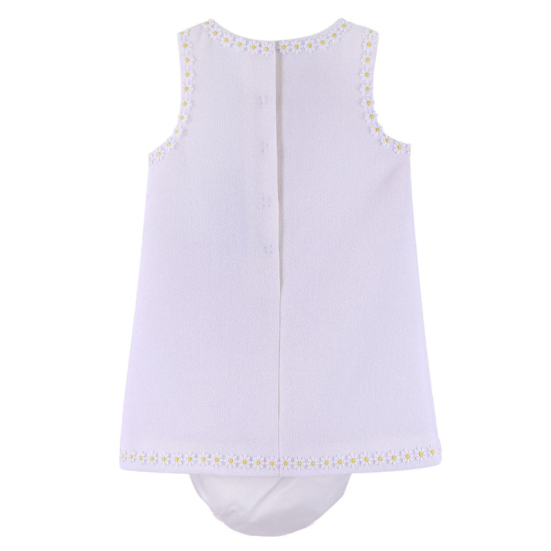Baby Girls Ivory Dress - CÉMAROSE | Children's Fashion Store - 2