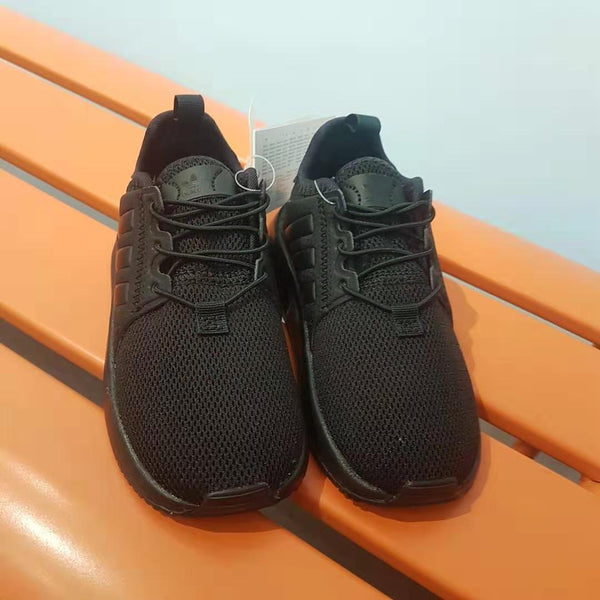 "Baby Boys Black ""X_PLR"" Shoes"