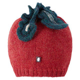 Baby Red Alpaca Wool Knitted Radish Hat - CÉMAROSE | Children's Fashion Store - 2