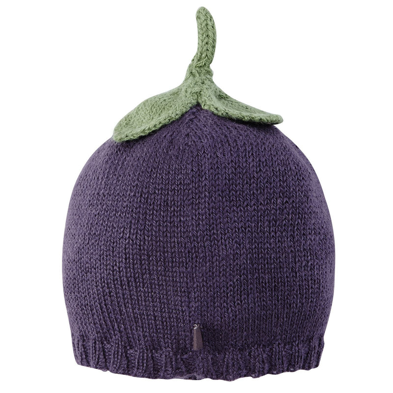 Baby Black Alpaca Wool Knitted Radish Trims Hat - CÉMAROSE | Children's Fashion Store - 2