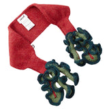 Baby Red Alpaca Wool Beet Trims Neck - CÉMAROSE | Children's Fashion Store - 2