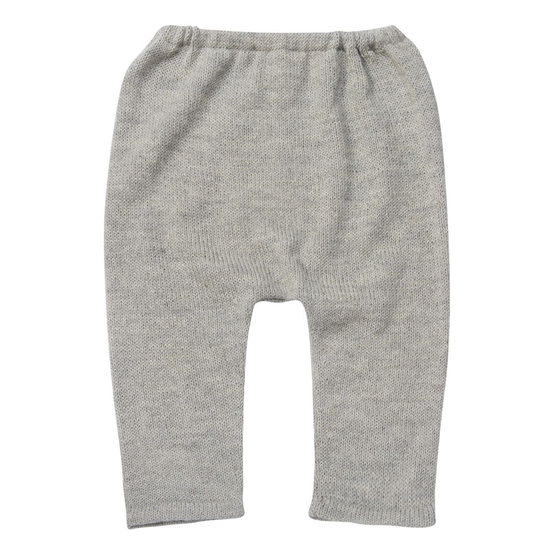 Baby Light Grey Alpaga Wool Hammer Leggings - CÉMAROSE | Children's Fashion Store - 1