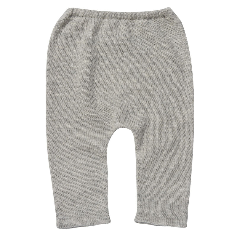 Baby Light Grey Alpaga Wool Hammer Leggings - CÉMAROSE | Children's Fashion Store - 2