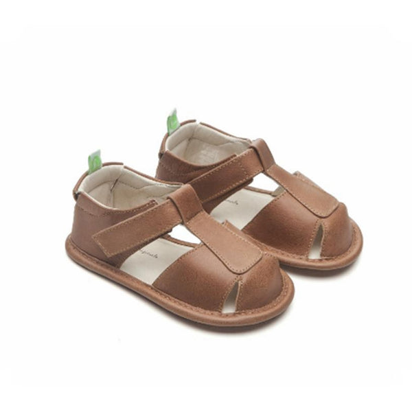 Baby Boys Whisky Leather Sandal