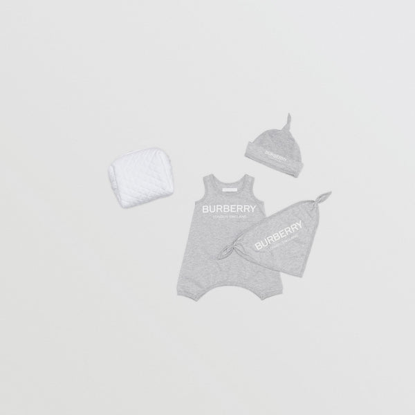 Baby Boys & Girls Grey Cotton Sets