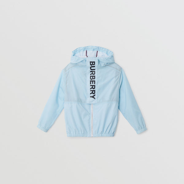 Boys & Girls Light Blue Logo Coat