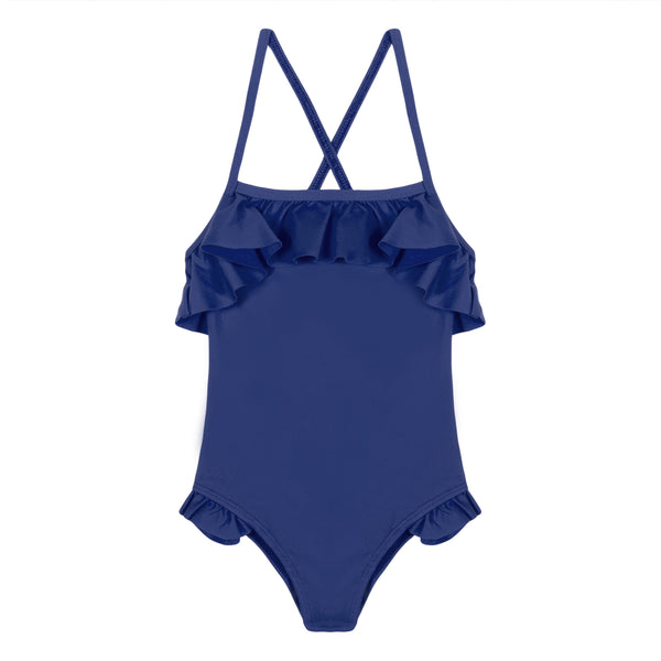 Girls Blue Swimsuit