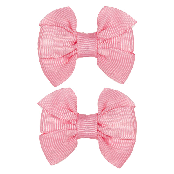 Girls Pink Bow Ties
