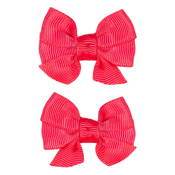 Girls Red Bow Ties