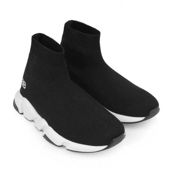 Boys & Girls Black Sport Shoes