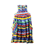 Girls Island Festival Print Poco Dress - CÉMAROSE | Children's Fashion Store - 1