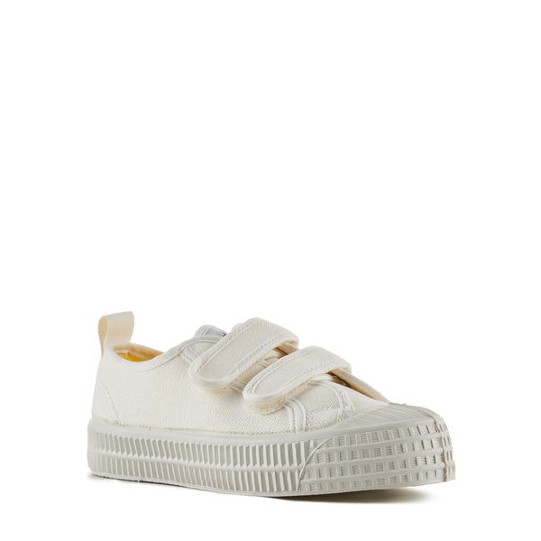Boys White Velcro Shoes
