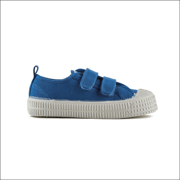 Boys Sky Blue Velcro Shoes